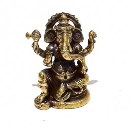 Ganesh bronce miniatura
