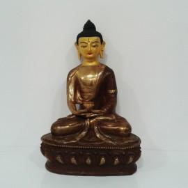 amitaba cobre y oro 21 cms