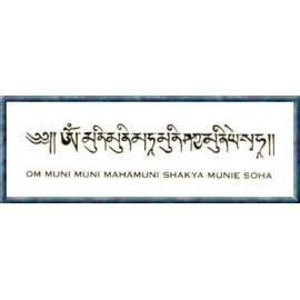 Manta Shakiamuni + bolsita de seda