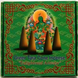 """Incienso tibetano en conos """"Green Tara"""" Actividad Iluminada"""