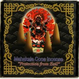 """Incienso tibetano en conos """"Mahakala"""" - Protección contra el mal"""