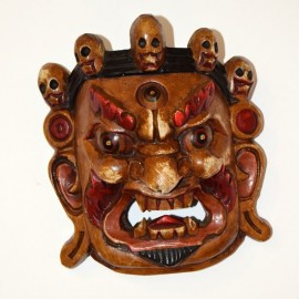 Máscara de Vajrapani mediana
