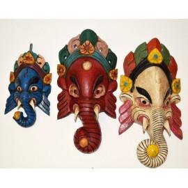 Máscara de Ganesh pequeña