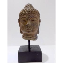 Cabeza de Buda pequeña piedra
