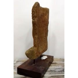 Cabeza de Buda en piedra 50 cms.