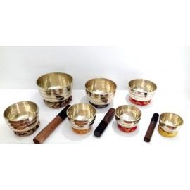 Set 7 cuencos tibetanos