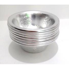 Set 7 cuencos ofrendas aluminio
