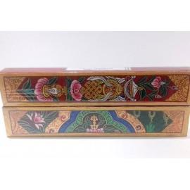 "Caja de incienso doble ""Tibetan Sandalwood y night of Amber"""