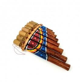 Flauta de Pan pintada