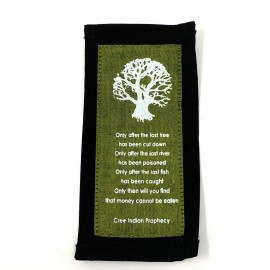 """Marca libros """"Only after the last tree"""""""