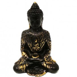 Buda amitabha oscuro 11 cms.