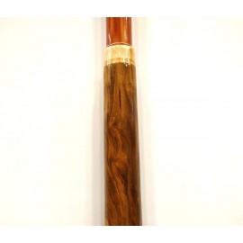 Didgeridoo de madera y pvc extensible